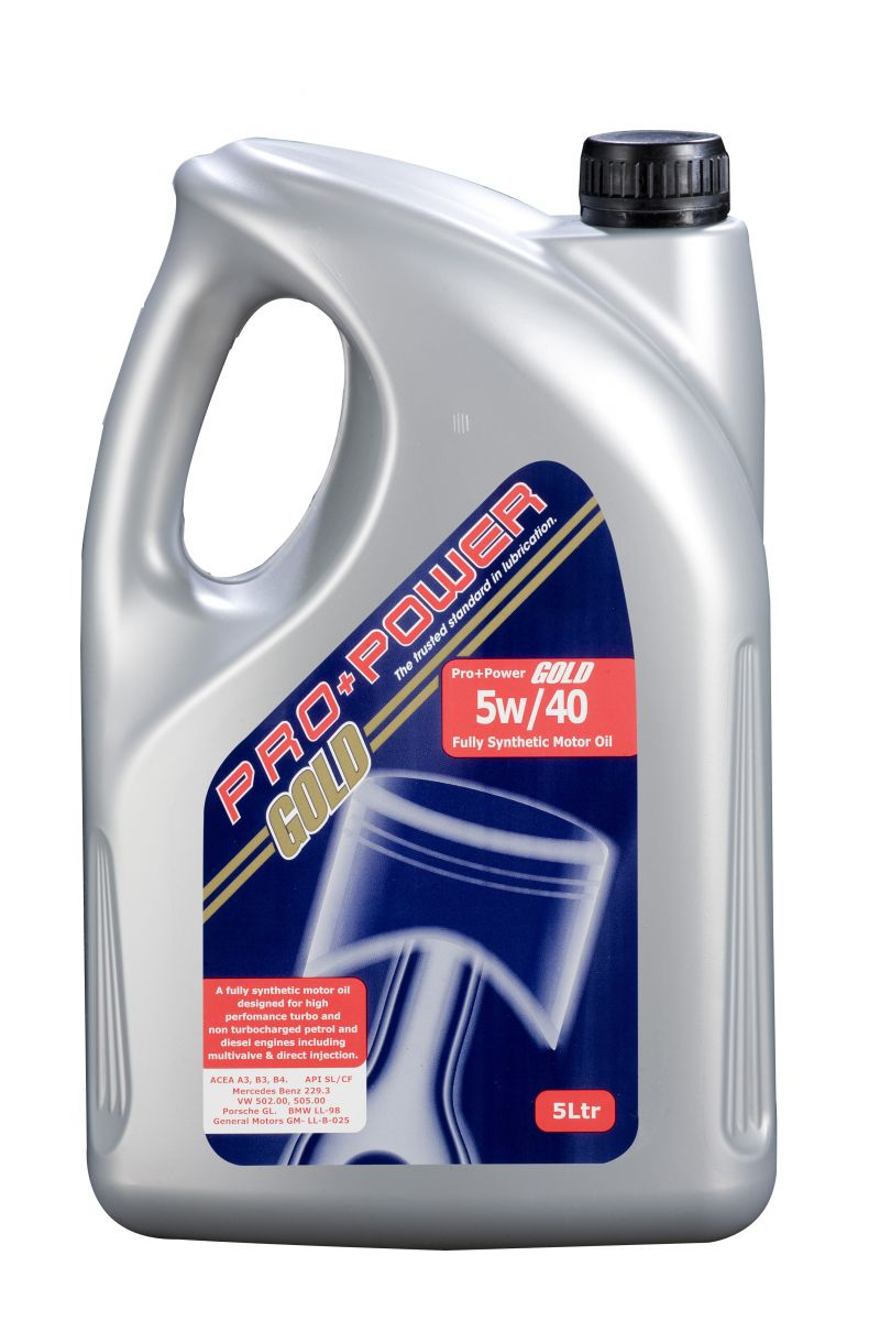 pro power 5w40 fully synthetic car engine oil 5 litres 5l